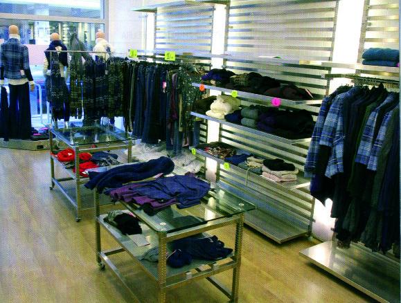 Scaffali per negozio scaffalature leggere picking manuale for Negozi arredamento on line